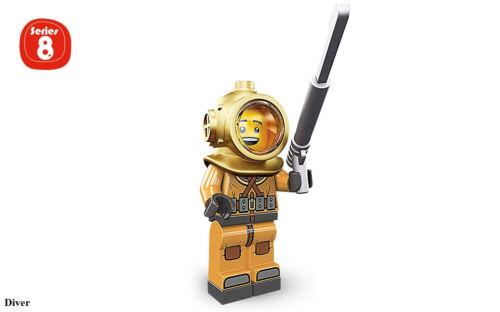 LEGO® 8833 Minifigure Series 8 YOU PICK character SAME DAY ship