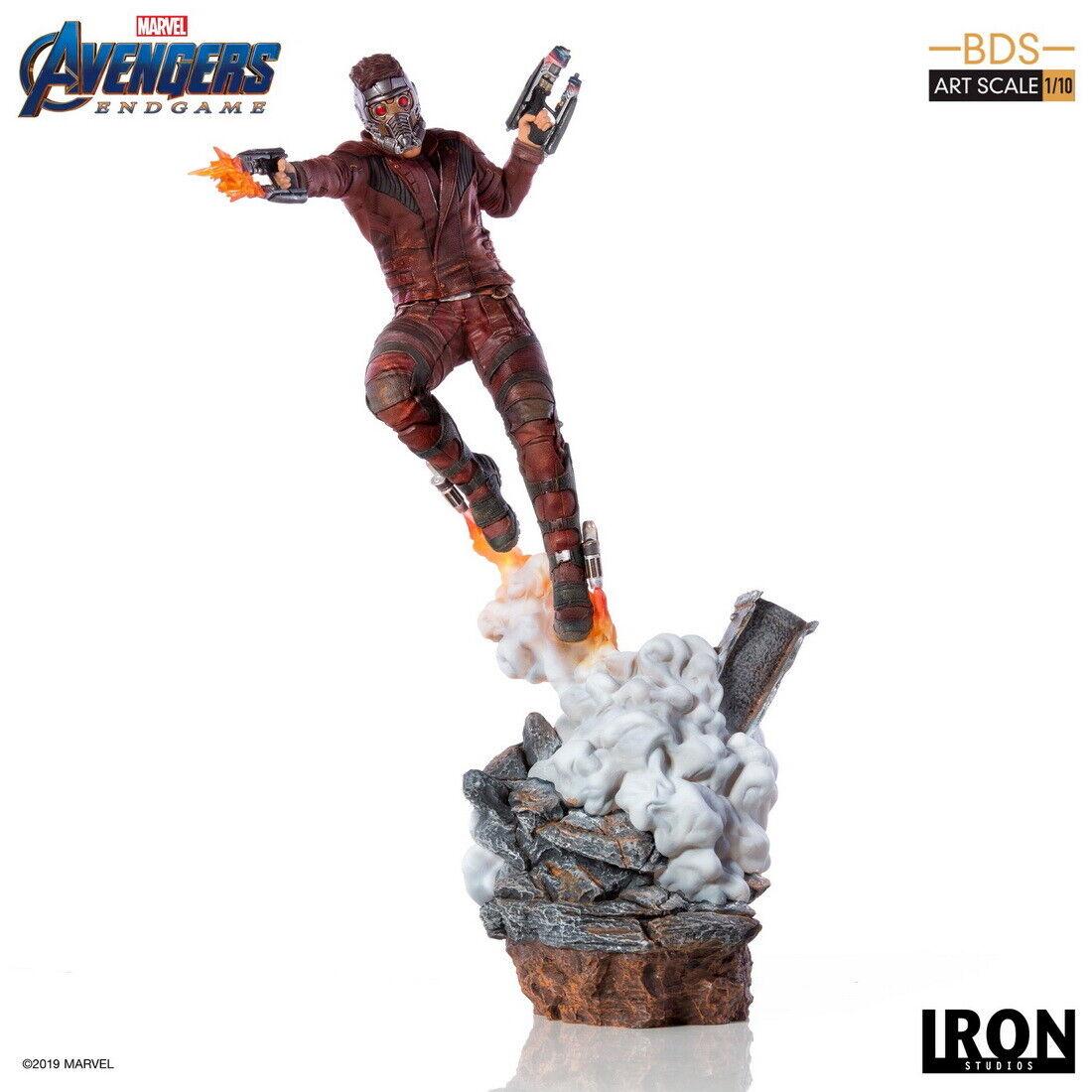 Iron Studios Avengers: Endgame Star-Lord BDS Art 1/10 Statue on eBay thumbnail
