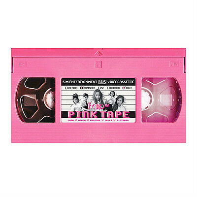 F(X) fx-[PINK TAPE] VOL.2 2nd Album CD + Photo Card K-POP Sealed