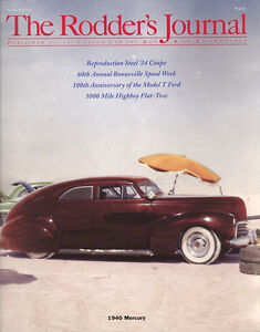 No. 42 Subscriber Cover A 1940 Mercury RODDERS JOURNAL