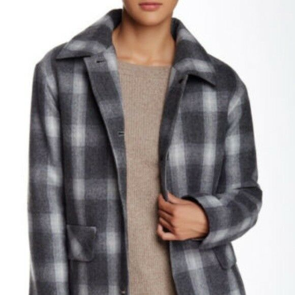 Pendleton Wool Blend Shirting Plaid Coat NWT  375   SZ L   C356