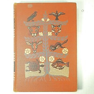 VTG-1949-Childcraft-Book-Vol-7-Exploring-The-World-Around-Us-Orange-Hardcover