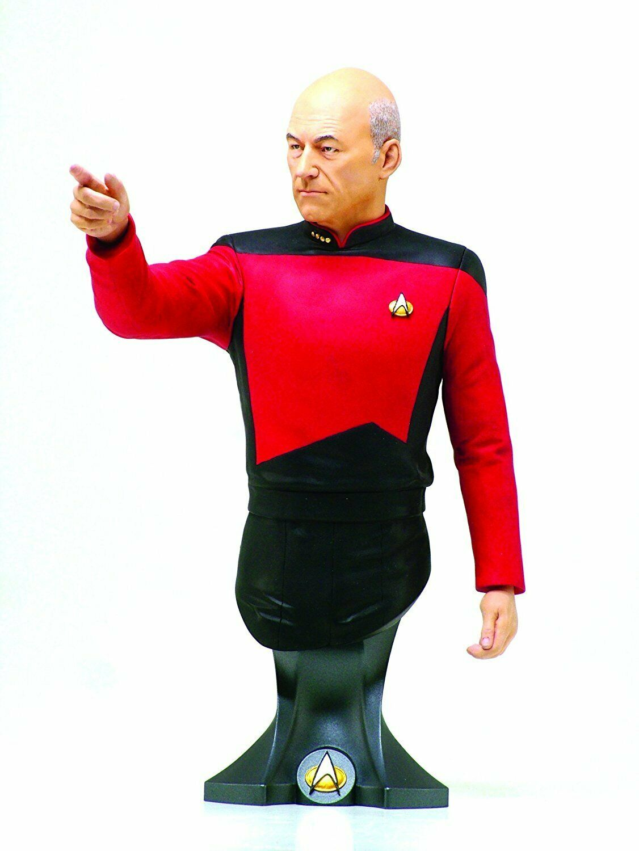 Titan Mercheise estrella Trek  Captain JeanLuc Piautod Miniautobust