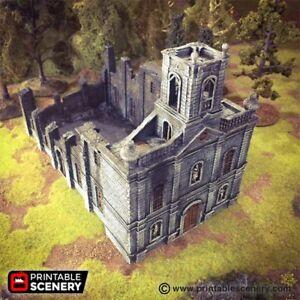 Caribbean-Church-28mm-Tabletop-Games-Dwarven-Forge-D-amp-D-Terrain-Wargaming