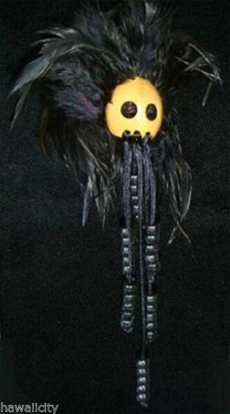 Hawaiian Black Bead Ikaika Warrior Helmet from Hawaii