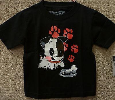 """Color Black Metal Mulisha Kids/'s Infant T-shirt /""""Bandit infant/""""-"""