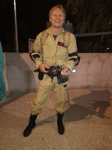 Ghostbusters adult costume *screen accurate* cosplay halloween 1980/'s