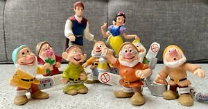 DISNEY-039-S-SNOW-WHITE-AND-THE-SEVEN-DWARVES-FIGURINES-BULLYLAND-SETS-amp-INDIVIDUAL