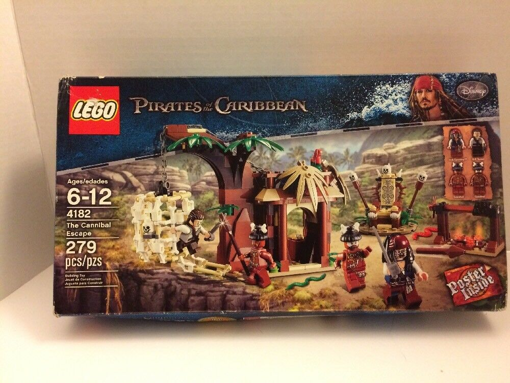 Lego Pirates of The Caribbean 4182 The Cannibal Escape - Factory Sealed
