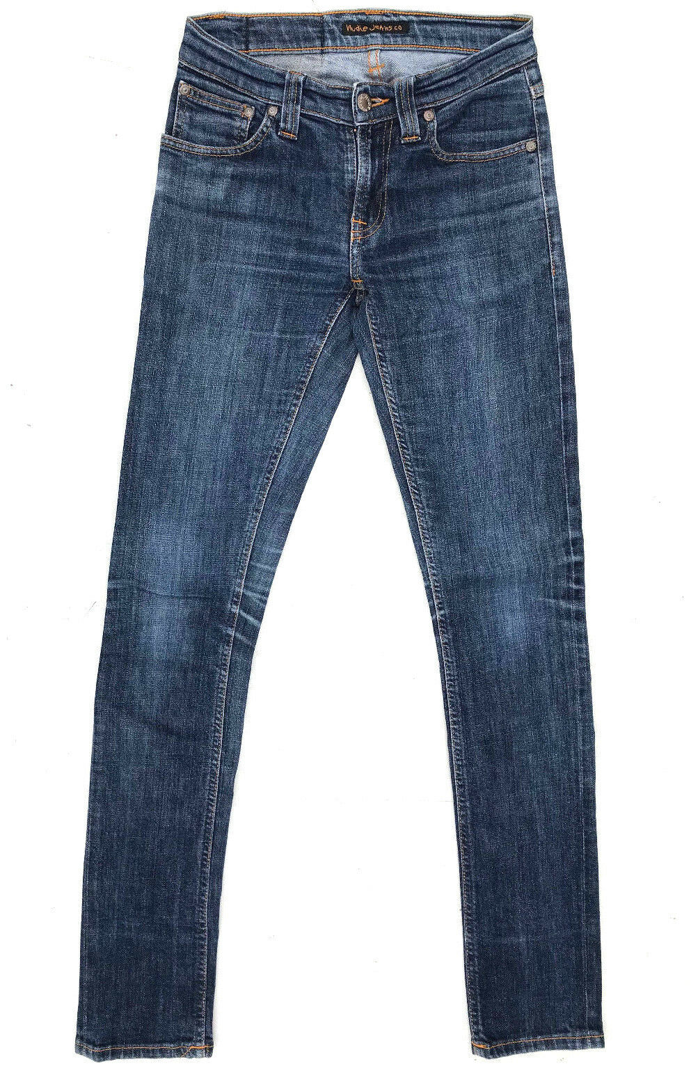 Nudie Jeans 'TIGHT LONG JOHN DENIM STRETCH' W25 L32 AU7 US3 RRP  Womens