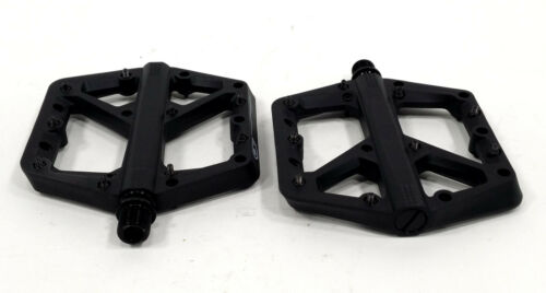 Large Crank Brothers Stamp 1 Mountain Bike Pedals Black