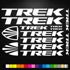 TREK Vinyl Decals Stickers Bike Frame Cycle Cycling Bicycle Mtb Road
