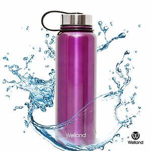 Hydro-Bottle-Water-Flask-Purple-32oz-Vacuum-Stainless-Steel-WELLAND