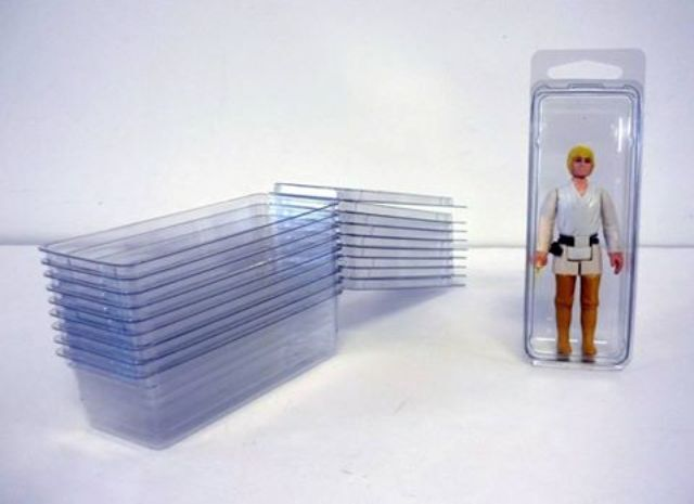 100 x Small Figure - Loose Blister Cases - 4.5