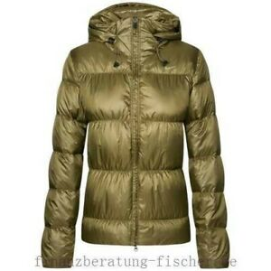 new style 9c501 c8b36 Dettagli su Nike giacca donna piumino sport verde militare taglia L quasi  nuova!