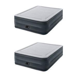 Intex Comfort Plush Dura Beam Air Mattress W Built In