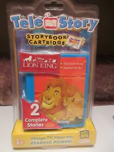 Jacks-Pacific-TeleStory-Lion-King-Storybook-Cartridge-For-Interactive-System