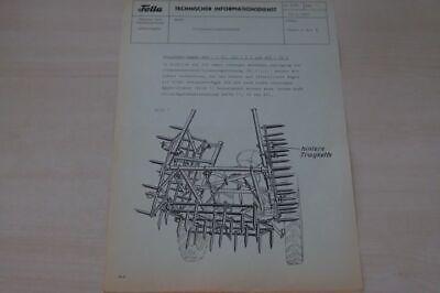 Technischer Informationsdienst Fella 198046 Prospekt 05/1962 To Win Warm Praise From Customers
