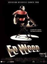 Affiche 120x160cm ED WOOD (1995) Tim Burton - Johnny Depp, Martin Landau TBE