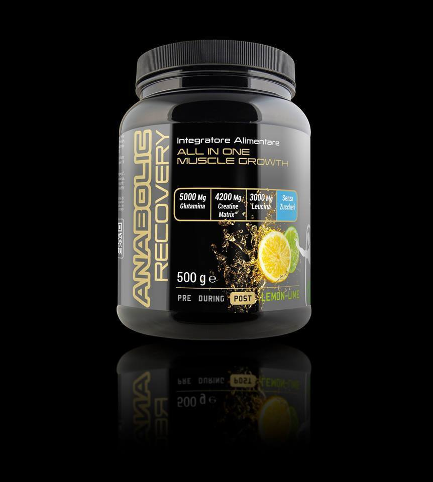 Net Lemon-Lime Integratori Anabolic Recovery 500g gusto Lemon-Lime Net 72bd29