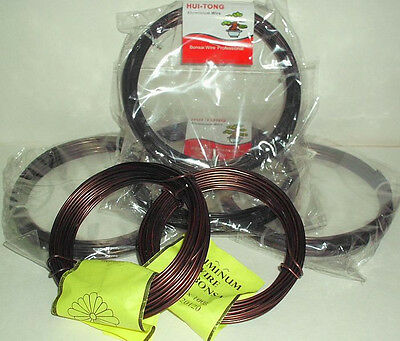 Japanese Quality 100 Gram Anodized Aluminum Bonsai Wire 4mm