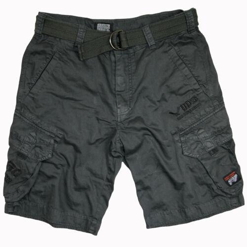 "Yakuza Premium Cargo Shorts/"" 2663/""Grigio YPS uomo breve Casual"