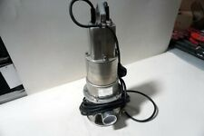 Honda Submersible Water Pump Model Wsp50aa 12 Hp 120v 36 Amps Local Pick Up