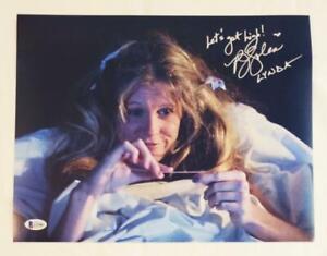 PJ-SOLES-SIGNED-LYNDA-11x14-PHOTO-HALLOWEEN-1978-BECKETT-BAS-COA-083