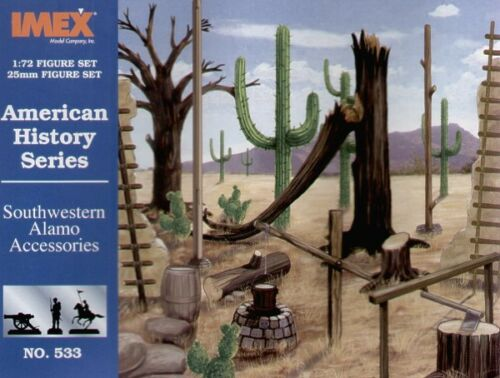 Southwestern Alamo Accessories Imex 1:72