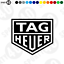 Tag-Heuer-NEW-Sticker-Vinyl-Decal-TAG-HEUER-Race-Racing-Rally-3725-0320 thumbnail 1