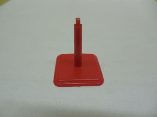 DOGFIGHT GAME PIECE RED IN FLIGHT PLANE STAND MB American Heritage