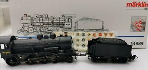 Marklin-34989-Nr-298-T-DSB-Locomotora-de-vapor-H0-Modelo-del-150-aniversario