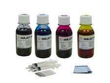 Ink refill kit for HP 63 Deskjet 3630 3631 3632 3633 3634 3636 4x100ml
