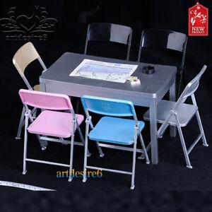 1-6-Scale-Moebel-Tisch-Schreibtisch-Stuhl-fuer-12-Zoll-Actionfigur-Soldaten-Spielzeug-NBI