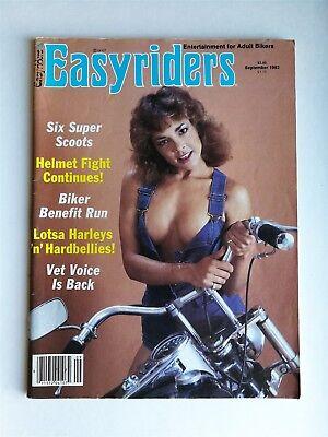 AUG 1983 EASYRIDERS MOTORCYCLE magazine DAVID MANN