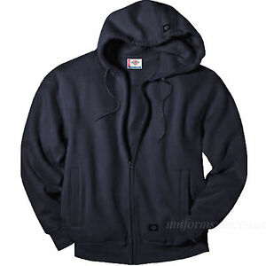 Dickies-Sweatshirts-Men-STORM-Fleece-Hooded-Water-Repellent-Fleece-Jacket-TW377