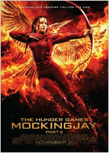 The Hunger Games Part 2 Classic Movie Poster Art Print A0 A1 A2 A3 A4 Maxi