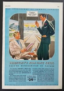 Priestleys-Nor-East-Suits-1939-Vintage-Print-Ad-Mens-Fashions-Train-Baltimore