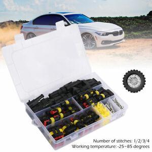 295x-26Kit-Waterproof-Car-motorcycles-Wire-Connector-Plug-Terminal-2-3-4-Pin-Way
