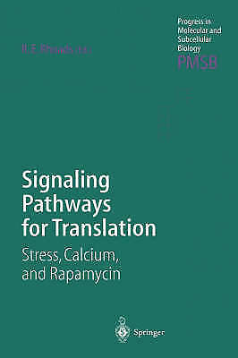 1 of 1 - NEW Signaling Pathways for Translation: Stress, Calcium and Rapamycin