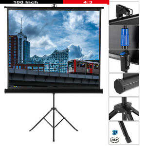 100-039-039-HD-Ecran-de-Projection-Videoprojecteurs-Trepied-Stabile-Ecran-Projecteur