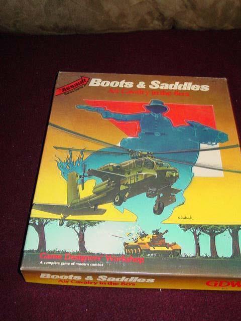 GDW -  Assault Series Module - stivali & SADDLES - Air Cavalry in 1980's (UNP) cpy5  shopping online e negozio di moda