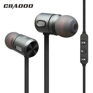 f4bfa246cc6 Image is loading CBAOOO-Magnet-Wireless-Bluetooth-Earphone-Headset-Stereo- Bass-