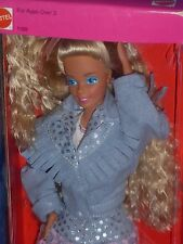 ♥ NRFB RAR Vintage 1988 Super Star Ära Feeling Fun Jeans Denim Look Barbie