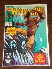 WOLVERINE #44 VOL1 MARVEL COMICS X-MEN AUGUST 1991