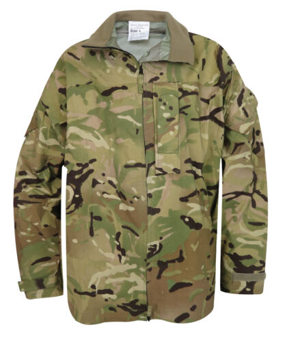 VARIOUS SIZES BRITISH ARMY MTP LIGHTWEIGHT GORE-TEX JACKETS USED GRADE 1