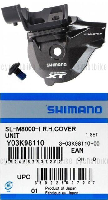 Shimano Sl-M8000-I R.H. I-Spec-II Right Rapidfire Plus Lever Cover Unit New
