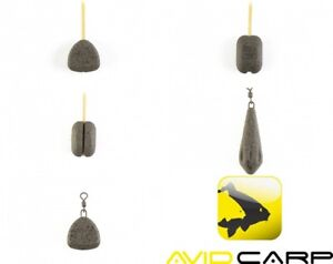 5 x Avid Carp Outline Extremity Swivel Leads