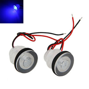 2pcs led boot licht rv wasserdicht beleuchtung treppe lampe rennboot yacht 12v ebay. Black Bedroom Furniture Sets. Home Design Ideas