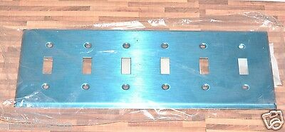 1pcs-Cooper 93071 Single Toggle Stainless Steel Standard Size Wallplates 1-Gang